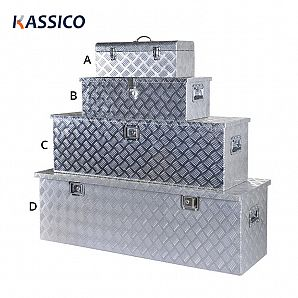 Aluminum Tool Boxes for Trucks Trailers Utes Metal Toolbox