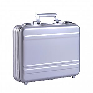 Moulded Aluminum Briefcase for Laptop & Document Carry