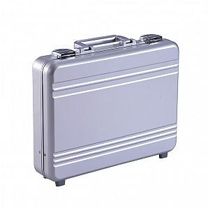 Molded Aluminum Attache Briefcase for Laptop Carrying