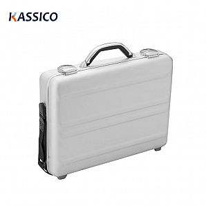 Aluminum Briefcase with Lockable for Business Carrying